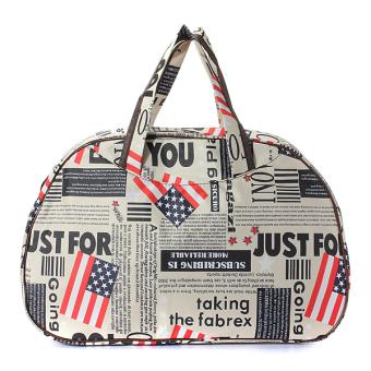 Harga Bugs Tote Bag B America Flag Putih Dan Ulasannya Toko Source · Printed Duffle Bag