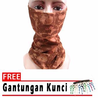 Serbaguna Elastis Tanpa Sambungan Seamless Source · Buff Bandana Masker Multifungsi WANITA.