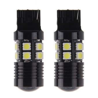 HKS 2x 10W High Power CREE R5 & 12 5050 SMD LED Backup Reverse Lights T20 7440 7443 ...