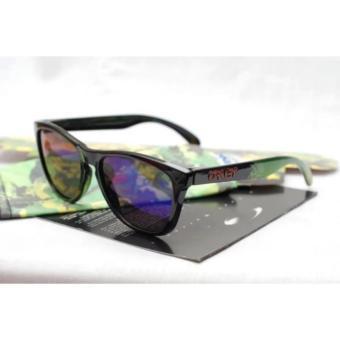Kacamata Fashion Fachri Shop Sunglasses Pria Biru Muda