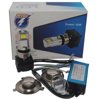harga RTD - Lampu Utama Motor 3 Led Lazada.co.id