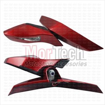 VND Spion – Sepion Kaca Lipat Motor N Max - NMax Merah. >>>>