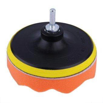 Allwin 5 inch Polishing Sponge Pad M10 Drill Adapter Kit For Car Auto Polisher 5pcs ...