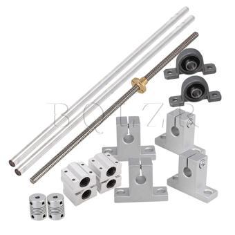 harga 15 x horizontal 0.2 cm batang Timah 30 cm ukuran rel bantalan blok kopling fleksibel Lazada.co.id