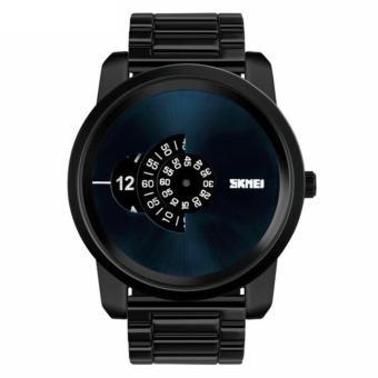 SKMEI Casio Man Sport LED Watch Water Resistant 30m AD1171 Waterproof Analog DIgital – Hitam