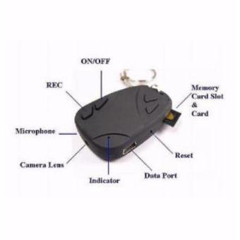 Harga Spycam Gantungan kunci camera remote alarm mobil