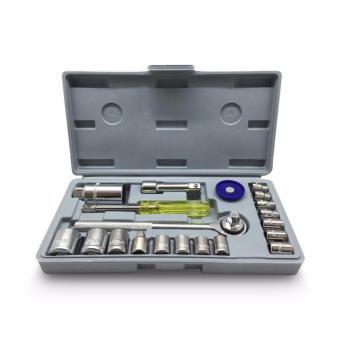 harga Kunci Sok Set 21 Pcs Alat Bengkel Motor Serbaguna Lazada.co.id