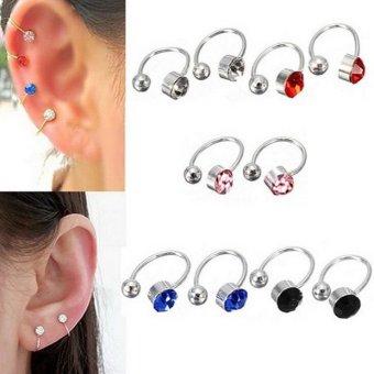 ... Giwang Earrings Clear Daftar Update Harga Source · Anne Bp0033 Anting Tusuk Kotak Black 7mm Update Harga Terkini Source Harga Terbaru
