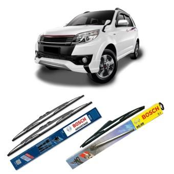 """Bosch Wiper Advantage Depan & Belakang Mobil Toyota Rush Set 21"""" ."""
