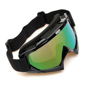 harga Motorcross Off Road Trial Enduro Helm Sepeda Kacamata Sepeda Motor ATV Kotoran Eyewear Hitam- intl Lazada.co.id