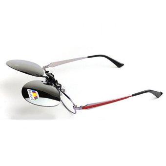 harga Clip Lensa Kacamata Polarized Sunglasses Night Vision Googles -HITAM Lazada.co.id