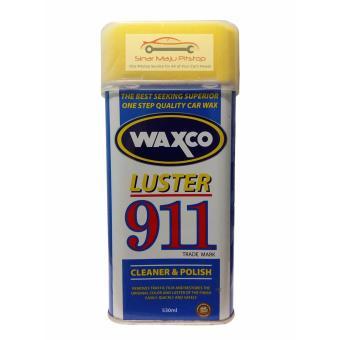 harga Cat Wax Oles Pembersih / Pengkilap / Pelindung Cat Mobil & Motor - WAXCO LUSTER 911 530 ml Lazada.co.id