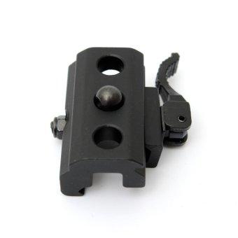 harga UK QD Detach Cam Lock Bipod Sling Adapter For 20mm Picatinny Weaver Rails Mount - intl Lazada.co.id