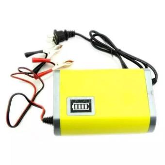harga Viper Portable Motorcrycle Car Battery Charger 6A/12V - Yellow Kuning - Alat Casan Cas Charger Charging Baterai Batere Batre Batrei Aki Akumulator Motor Mobil 6 A Ampere 12 V Volt Portabel Mini Kecil Lazada.co.id