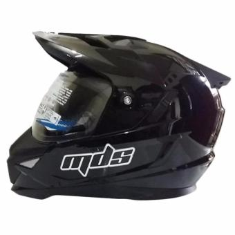 Harga MDS Helm Full Face Motor Cross MDS Super Pro Supermoto Double Visor Yamaha Ninja Honda