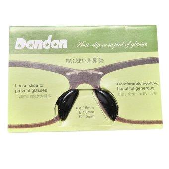 harga Buytra 5 Pasang Non-Slip bantalan untuk hidung silikon kaca mata Lensa Kacamata Hitam Lazada.co.id