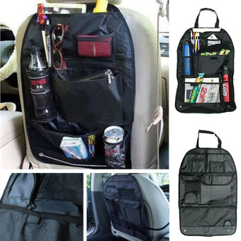 Mawar88shop Auto Car Seat Back Organizer Holder Multi Pocket Travel Storage Hanging Bag .