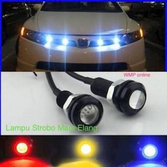 Harga Lampu Sen Strobo Model Mata Elang / Sein Depan Belakang Motor