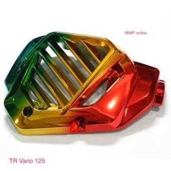 Harga Tutup Radiator Variasi Motor Vario 125 Pelangi