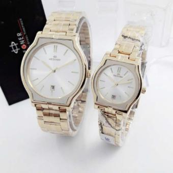 Harga Terbaru Hegner HGR 1285 - Jam Tangan Fashion Couple - Stainless Steel - Original