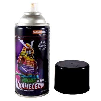 harga Whiz Samurai Automotive Motorcycle Car Paint - Cat Semprot Motor Mobil Spray Aerosol Paint - Khameleon T401**** - 3D Paint Aerosol - Warna Bunglon Lazada.co.id