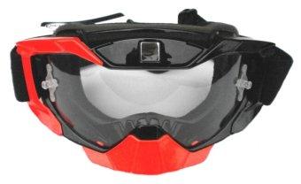 harga Snail Goggle Motocross Snail MX36 - Google M36 Orange Hitam Bening Lazada.co.id