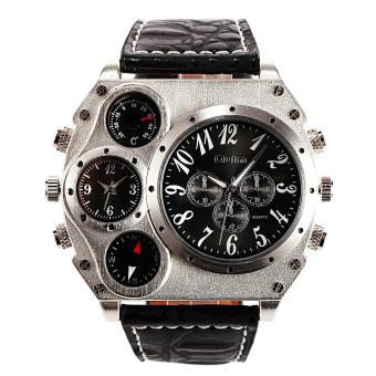 234000001560000033idrwatches Sunglasses Jewellery Harga Terbaru OULM Besar Mewah Dial Multi Timezone Pria Perhiasan .