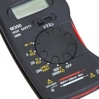 AIMO M300 Mini Genggam Digital Multimeter LCD Keselamatan Tinggi… bawah