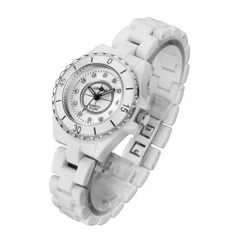 LONGBO Luxury Mens Women Ceramic Watch Fashion Geneva Couple Watches Male Quartz Wrist watches 8628 -