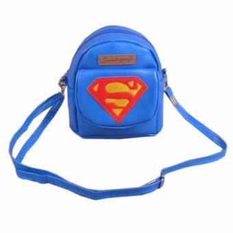 Tas import Supergirl Anak Perempuan - Biru. >>>>