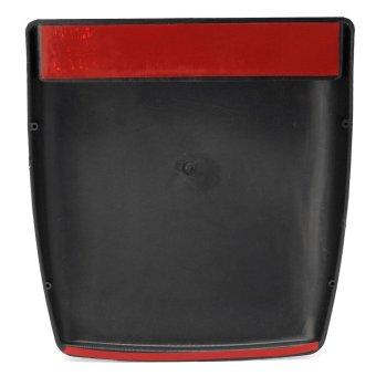Universal Car Decorative Silver Air Flow Intake Hood Scoop Bonnet Vent Cover Black – intl