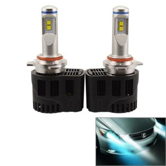 2 PCS ZY-9012JGDP6-55W Philips MZ 5200LM 6000K White Light Car LED Head Lamp With Driver, DC 11-30V - intl