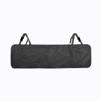 Cocotina Oto interior jok mobil penyimpanan rapi agenda perjalanan multi-saku tas kantong jala pemegang 110.5 cm x 35 cm - Hitam ...