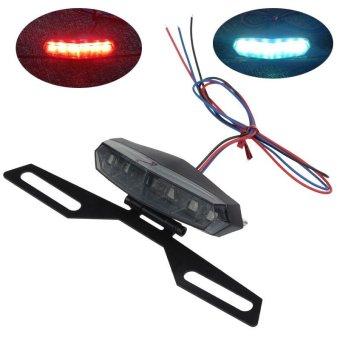 harga Motor ATV 12 V Indikator LED Rem Plat Dudukan Lampu Ekor Hitam Lazada.co.id