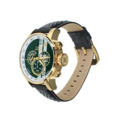 Invicta Men's 19908 S1 Rally Gold Plated Stainless Steel Watch W / Leather Strap