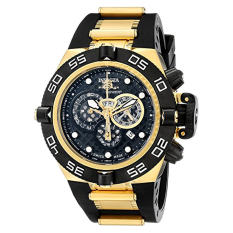 Invicta Men's 6583 Subaqua Noma IV Collection Chronograph Black Polyurethane Watch (Intl)