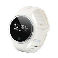 IP67 Waterproof Bluetooth Smart Band Watch Bracelet Sports Pedometer Sleep Monitor For iPhone Samsung Smart Wearable Devices Watch (White) - Intl