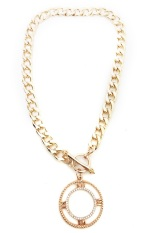 Istana Accessories Sisilia Chain Fashion Necklace - Gold