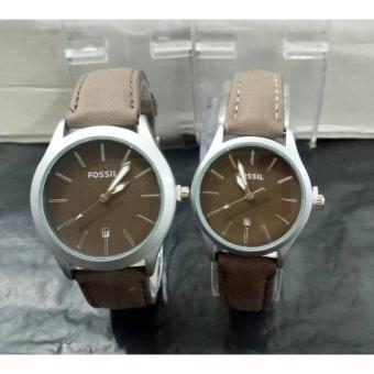jam tangan couple FOS.SIL unik & elegan DS