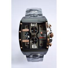 Jam Tangan Expedition E 6636 MC Original Black Rosegold