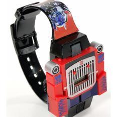 Jam Tangan Karakter Optimus Prime