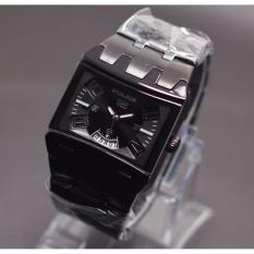jam tangan pria Police fashion & casual - Date on - Stainless steel
