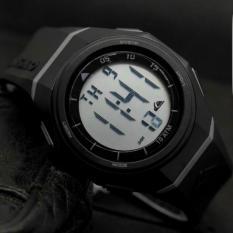 Jam Tangan Pria Wanita Fashion Sport LED Digital Water Resistance - Hitam 08e3e1c51c