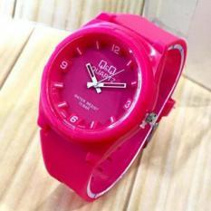 jam tangan pria/wanita Q&Q Moe121a rubber strap-anti air