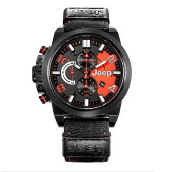 Jeep multi-functional quartz male watch outdoor sports chronograph Wrangler series new fashion men's watches JPW60903 - intl