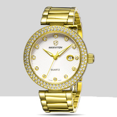 Jiage Mars Avedon (MAXVITON) Swiss Watch Brand Fashion Diamond Ladies Watch Watch Calendar Quartz Watch Fashion Watch Waterproof VL1313DB-66E