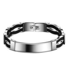 Jiayiqi Hot Sale Watch Band Titanium Steel Bracelets For Men