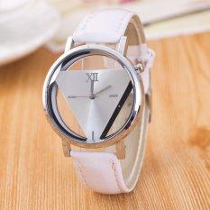 JIS Fine When Harajuku Triangular Watch JS2891-White