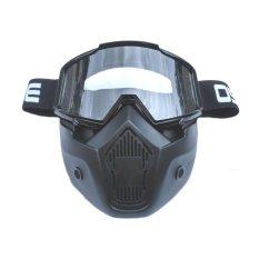 Kacamata Goggle OSBE Alien Mask Modular Clear | Google Masker Topeng Bening