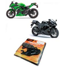 Kampas Rem Depan/Belakang Steel Fiber Daytona 3380 Kawasaki Ninja 150 / 250